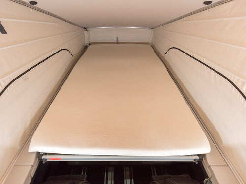 Mercedes Benz Marco Polo Campervan iXTEND fitted sheet Mercedes-Benz V-Class Marco Polo & HORIZON & ACTIVITY (2014->), Nicki-plush (80 % cotton, 20 % polyester)