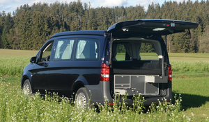 VanEssa mobilcamping Rear Kitchen System & Sleep System for Marco Polo