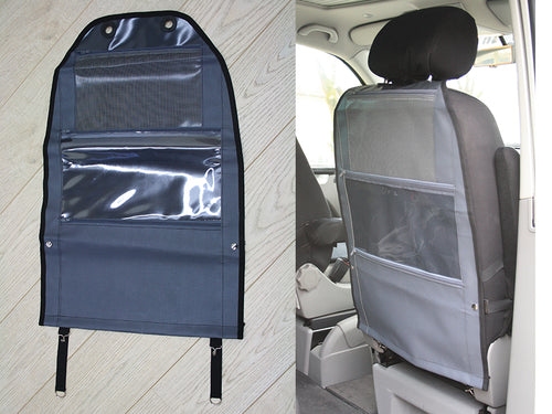 Mercedes Benz Marco Polo Basic 3-pocket Rear Seat Bag - Dark Grey