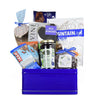 Bold In Blue Kosher Gift Basket