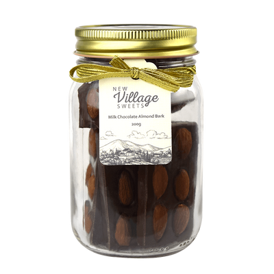 New Village Sweets Milk Chocolate Almond Barks