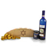 Happy Hanukkah Menorah Basket