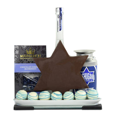 When You Wish Upon A Chocolate Star Liquor Gift