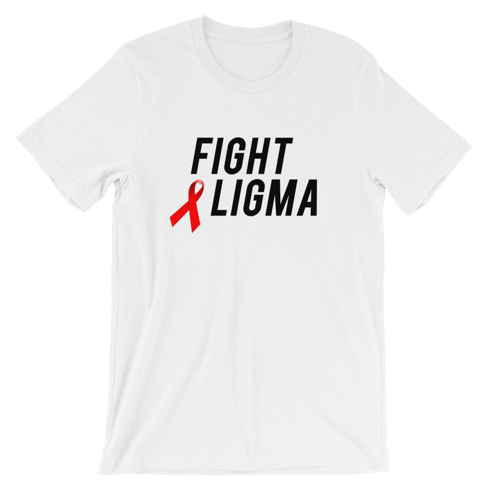 Fight Ligma T-Shirt - Dank Meme Apparel
