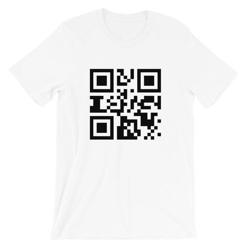 Send Nudes QR T-Shirt - Dank Meme Apparel