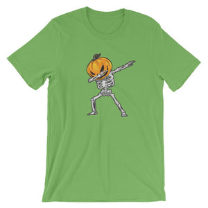Dabbing Skeleton T-Shirt - Dank Meme Apparel