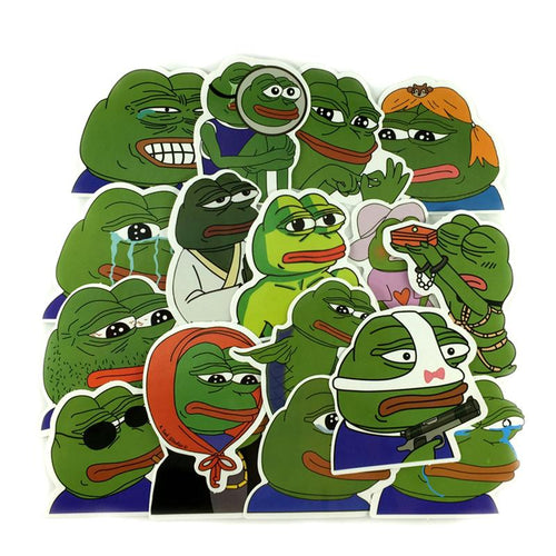 Pepe The Frog Stickers - Dank Meme Apparel