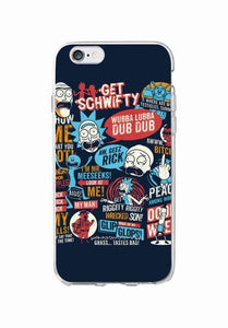 Rick And Morty Phone Case - Dank Meme Apparel