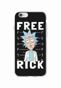 Free Rick Phone Case - Dank Meme Apparel