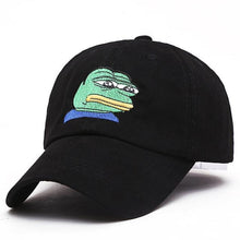 Load image into Gallery viewer, Sad Pepe Dad Cap - Dank Meme Apparel