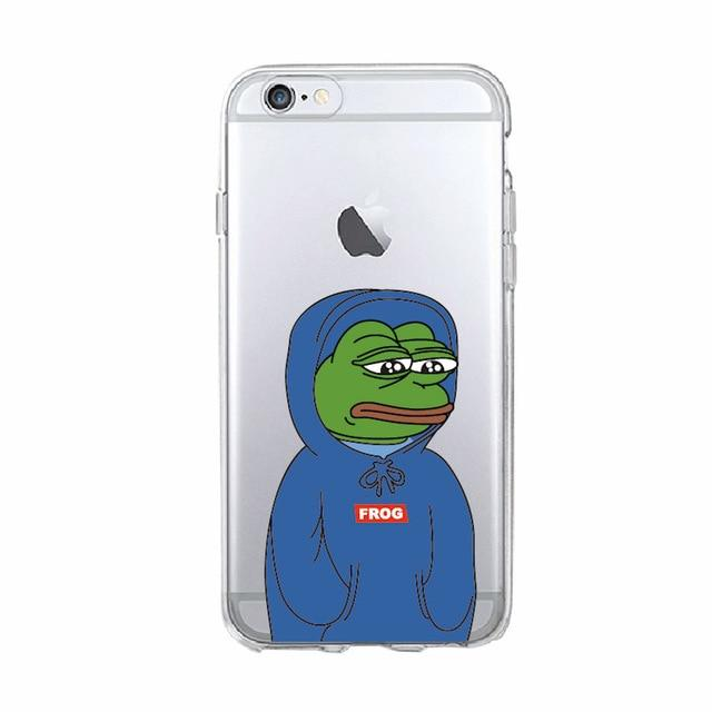 Sad Blue Pepe Case - Dank Meme Apparel