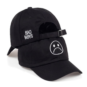 Sad Boys Dad Cap - Dank Meme Apparel