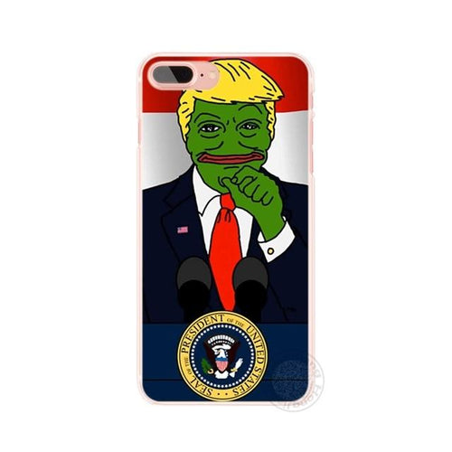 Pepe-Trump Phone Case - Dank Meme Apparel