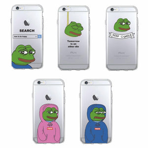 Sad Pepe Phone Case *FREE* - Dank Meme Apparel