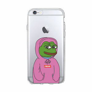 Pink Pepe Phone Case