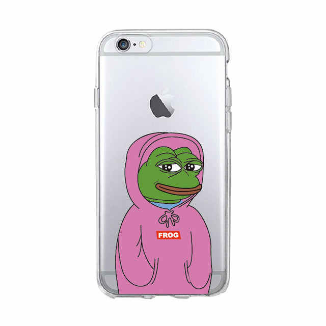 Pink Pepe Phone Case - Dank Meme Apparel