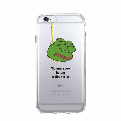 Tomorrow... Pepe Phone Case