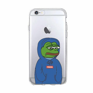 Sad Pepe Phone Case - Dank Meme Apparel