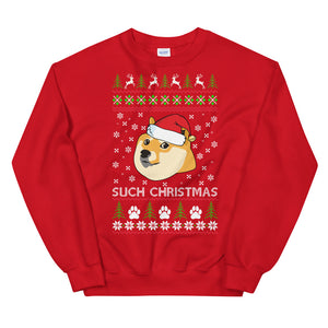 Such Christmas Doge Ugly Sweater