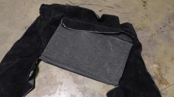 Porsche 911 964 Carrera Turbo Velcro Style Front Trunk Bonnet Carpet OEM