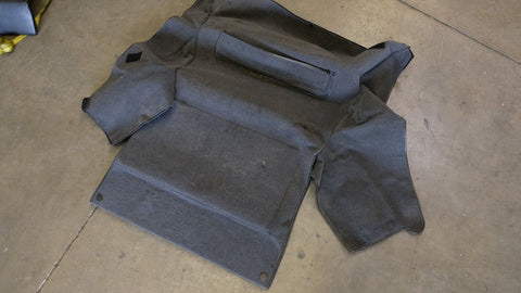 Porsche 911 993 Carrera Turbo Front Carpet Trunk Bonnet