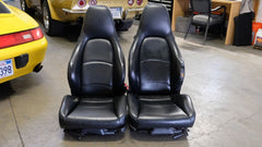 Porsche 911 993 Carrera Sport Seats OEM 1995 Black Leather