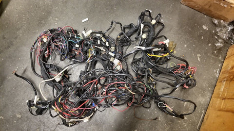 Porsche 911 Carrera 1989 Interior Wiring Harness 91161200220