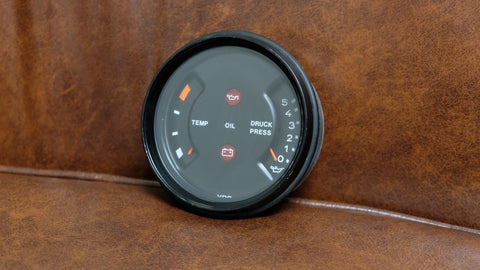 Porsche 911 930 Carrera SC Turbo Oil Pressure Temperature Gauge 91164110305 1985