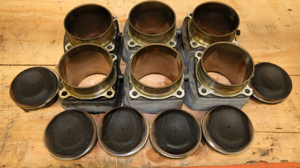 Porsche 911 964 Carrera Piston and Cylinder Set Used 81000 Miles