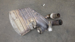 Porsche 911 997 GT3 Passenger Right Side Muffler OEM Stock Used 99711104898
