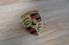 Porsche 911 996 986 Carrera Boxster Turbo Hood Badge OEM