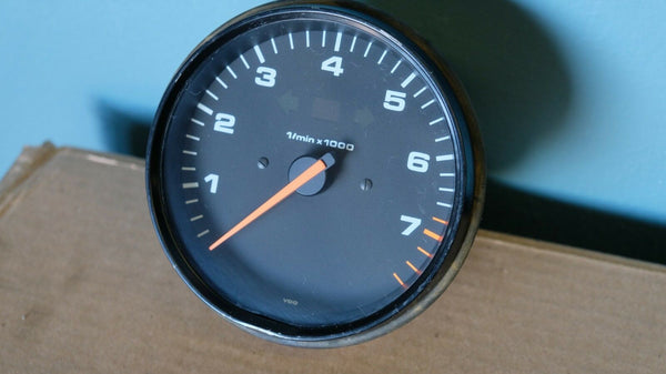 Porsche 911 964 Carrera Manual Tach Tachometer Dated 89'