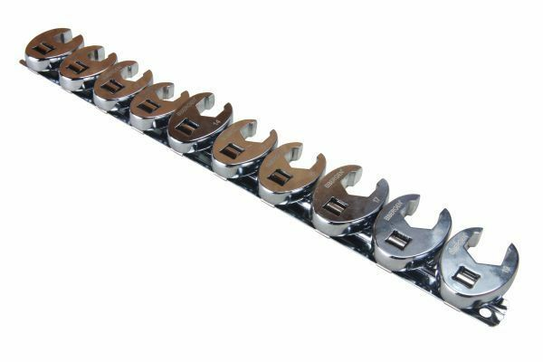 US PRO 10pc 3/8 dr Crowfoot Crowsfeet Crows Foot Spanner Wrench set - SBW Trading Limited
