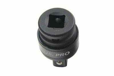 "US PRO Tools 1/2"" DR Universal Impact Socket Joint Wobble Swivel Adaptor 1433 - SBW Trading Limited"