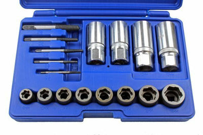 17pc Screw, Bolt, Stud & Nut Extractor Set - SBW Trading Limited