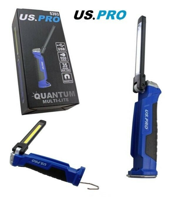 US PRO Quantum Multi-lite Rechargeable Multi function LED light