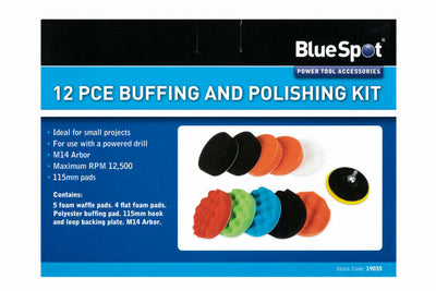 12PCE Buffing and Polishing Kit - SBW Trading Limited