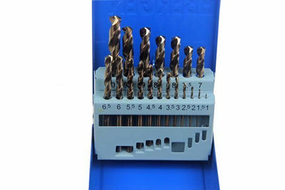 US PRO by BERGEN 19PC HSS COBALT METRIC DRILL BIT SET 2643 - SBW Trading Limited