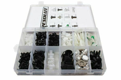 RESOLUT Volkswagen Assorted Trim Clips 255 Pieces 9033 - SBW Trading Limited