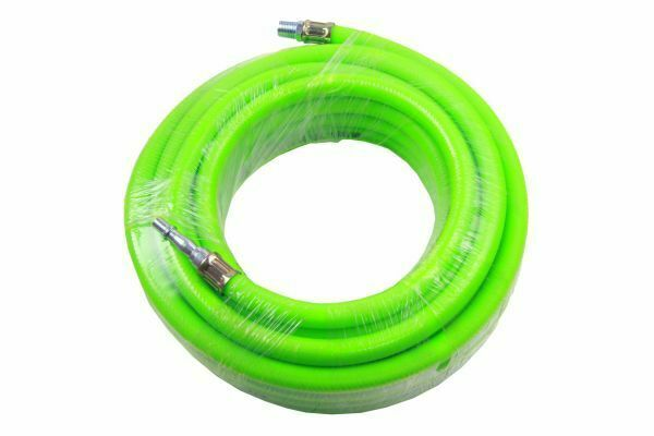 US PRO 8mm X 10 Meters HI Vis Green Quick Release Air Hose