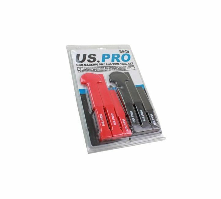US PRO Tools 6pc Non-Marking Trim & Pry Tool Set 5449 - SBW Trading Limited