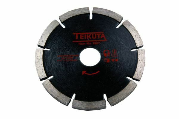Teikuta Diamond Mortar Raking Disc 115mm Angle Grinder Disc 5.25mm thick - SBW Trading Limited
