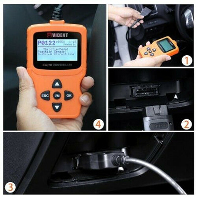 VIDENT iEasy200 OBDII  Car Diagnostics Scanner - SBW Trading Limited