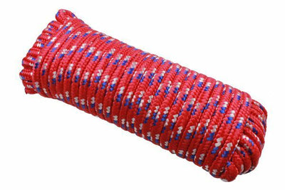 12mm Polypropylene Diamond Braided Rope 30 Meters - SBW Trading Limited