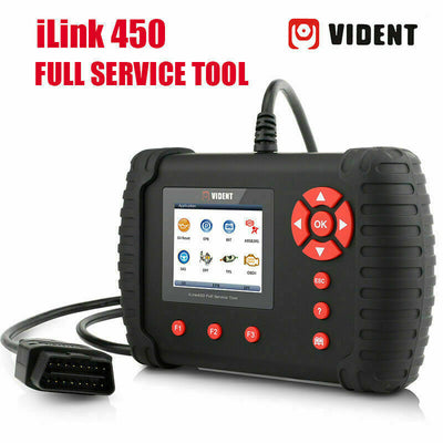 Vident iLink450 Full Service ABS SRS TBA EPB DPF Oil Light Diagnostic Scan Tool - SBW Trading Limited