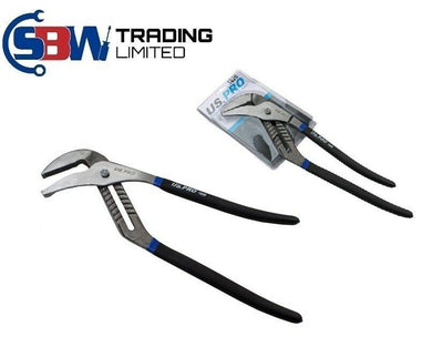 US Pro 20 Groove Joint Water Pump Pliers Pipe Wrench Plumbers Waterpump 1826 - SBW Trading Limited