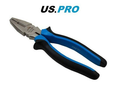 US PRO COMBINATION PLIERS High Leverage, Heavy Duty, Side Cutters 2216 - SBW Trading Limited