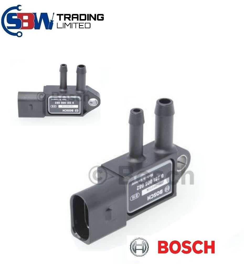 Genuine Bosch 0281006082 Exhaust Pressure Sensor 059906051C VW  BEXS1 - SBW Trading Limited