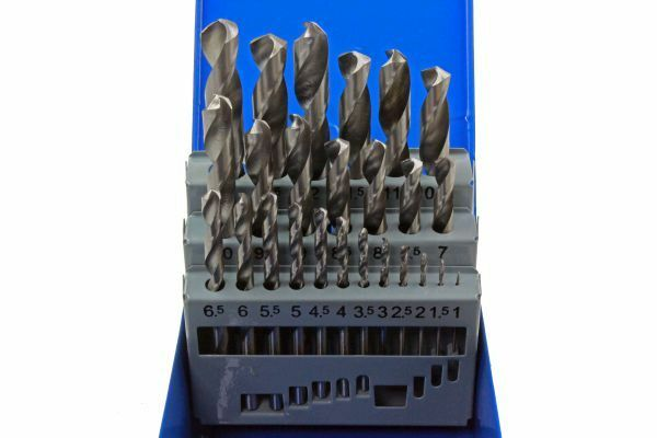 US PRO 25pc HSS Metal High Quality Drill Bit Set Metric 1mm - 13mm 2642 - SBW Trading Limited