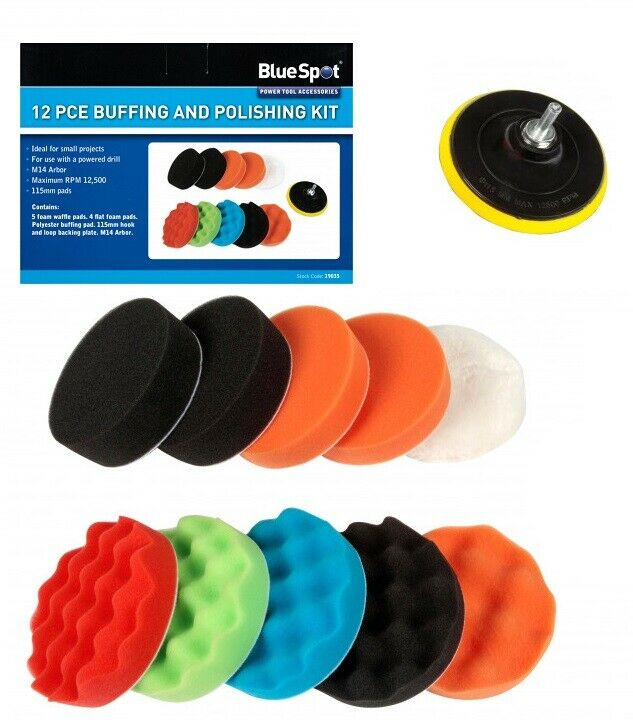 12PCE Buffing and Polishing Kit